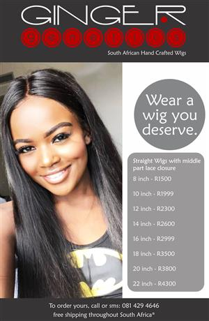 SOUTH AFRICAN HAND CRAFTED WIGS