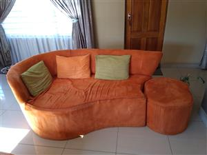 5 Piece Fabric Lounge Suite