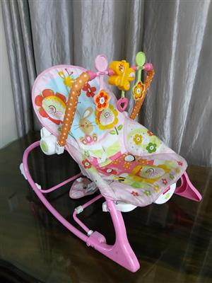 Pink rocking chair for sale