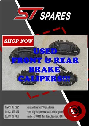 Brake Calipers @ ST