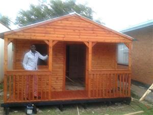 Donald's Wendy House &Tree felling