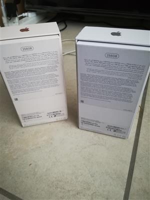 Two iphones 8 plus 256GB
