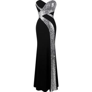 Long Strapless Mermaid Prom Dress (Sizes 4-18)