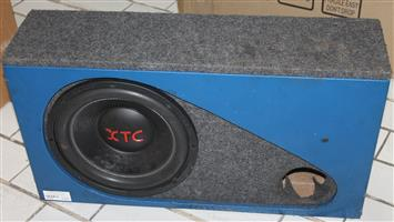 XTC speaker grey and blue S037940A #Rosettenvillepawnshop