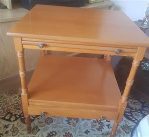 Wooden mini drawer stand for sale