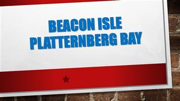 BEACON ISLE PLATTERNBERG BAY