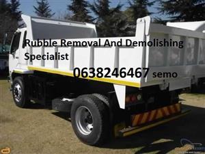 Reliable demolition hire