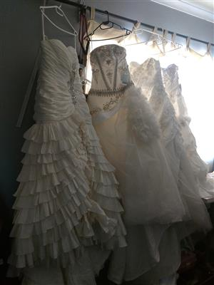 Urgent Sale of Wedding Dresses