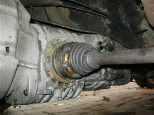 gearbox 4 speed VW