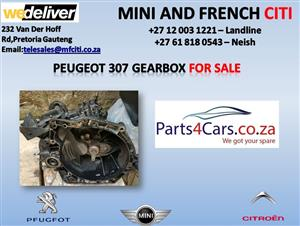 Peugeot 307 gearbox for sale