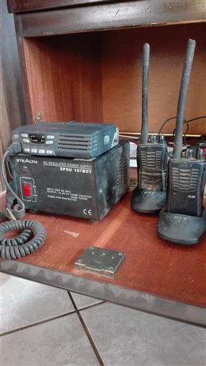 Kenwood TK7102 4 channel two way radio