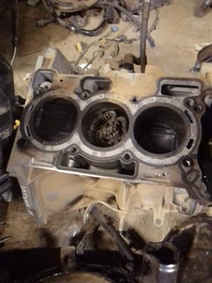 Logic Spares is selling a petrol  Datsun go 1.1 litre sub assembly (block).