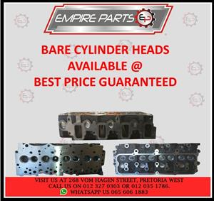 HYUNDAI and KIA – *BARE CYLINDER HEADS*