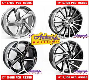 Brand new alloy rims suitable for VW Polo 5 hole, Audi A3 old, Golf 4