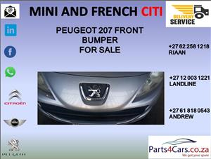 peugeot 207 bumper for sale