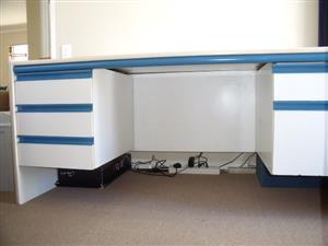 Executive Desk, Credenza and Extension