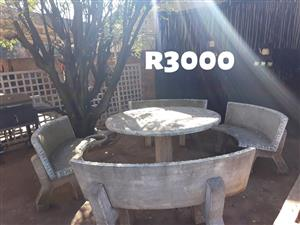 5 Piece garden set for sale