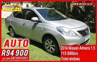 2014 Nissan Almera 1.5 Activ auto