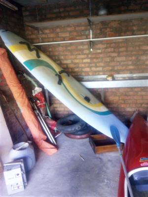 Canoe and windsurfer for sale by owner