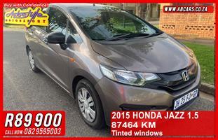 2015 Honda Jazz 1.5 Elegance