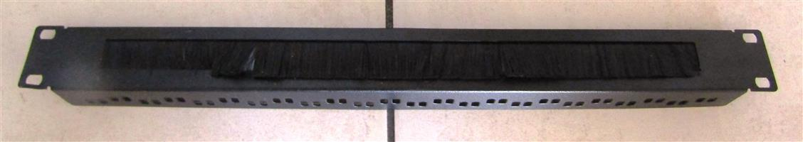 """19"""" Cable Entry Panel with Brush Insert"""