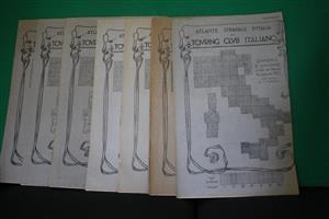 TCI Vintage Italian Street Atlas (1921-1923)