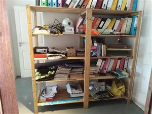 Wooden Shelf Filing Rack