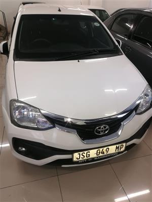 2018 Toyota Etios sedan 1.5 Xi