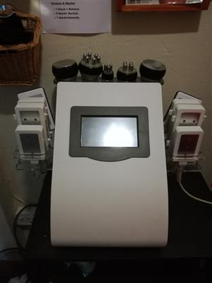 Laser lipo and cavitation machine