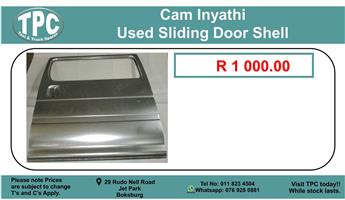 Cam Inyathi Used Sliding Door Shell For Sale.