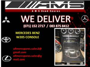 MERCEDES BENZ W205 CONSOLE FOR SALE