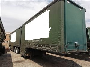 Used 2014 SA Truck Bodies Max Volume Tautliner Trailer for sale