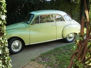 DKW Auto Union Coupe 1957 3/6 vintage 2 door