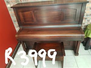 Dark wood Piano for Sale!