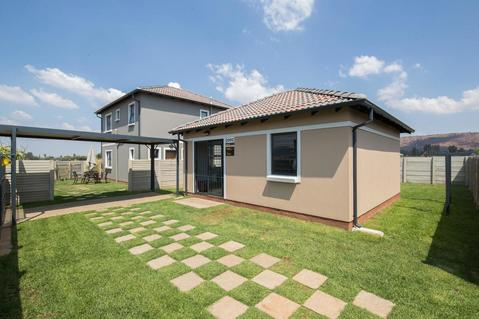 2 Bedroom home for the family life person - Space & Security & Privacy