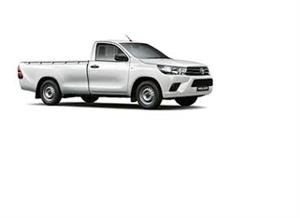 Bakkie rental. One tonner with towbar, open. Including driver/owner