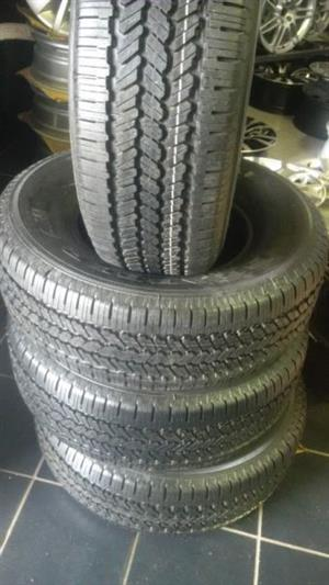 Brand new 16'' Bakkie tyres General Grabber A/W