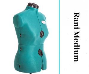 Rani Medium Form - Adjustable Dressmaker Doll / Mannequin / Sewing Doll