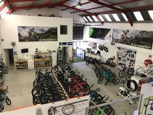 BICYCLE SHOP with Large Workshop FOR SALE