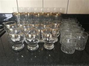 Various glasses for sale