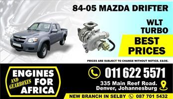 New Mazda Drifter WL 2.5Tdi Turbocharger FOR SALE
