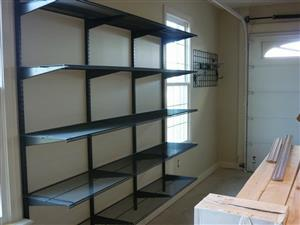 Home & Garage Quality Refurbished Steel Storage Racking Solutions