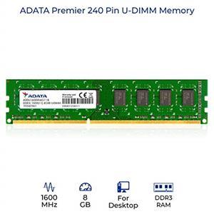 ADATA DDR3 1600MHz 8GB Memory Module