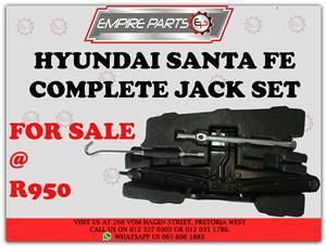 Hyundai Santa fe JACK SET for sale