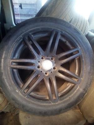 Tyres with mags