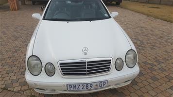 2001 Mercedes Benz CLK 320 cabriolet Elegance