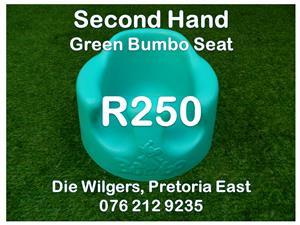 Second Hand Dark Green Bumbo Seat