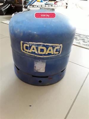 Cadac 3kg gas bottle for sale