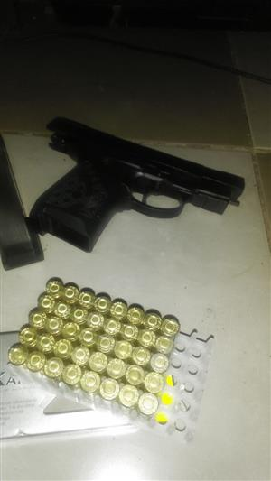 9mm kral self defence p.a.k handgun