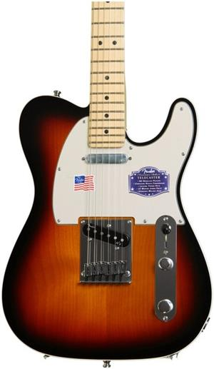 Fender Telecaster with pedal
